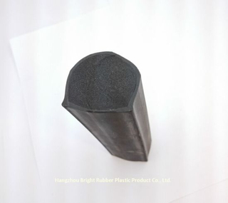 New Molded Black Foam Rubber Block