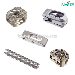 Spinal Fusion Cage Titanium And Peek Orthopedic Implants for Anterior Cervical And Lumber From Beijing Fule