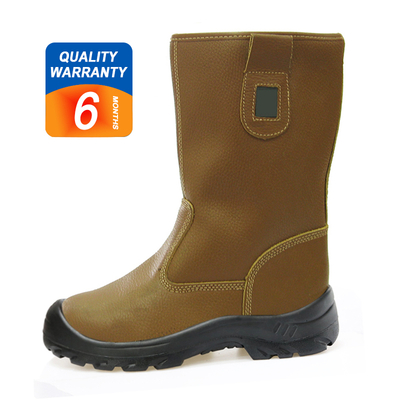 W1004 High ankle anti static steel toe cap welding safety boots