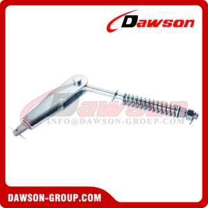 Galvanized Rope Suspensions with Rope Sockets According to DIN15315 (EN13411-7)