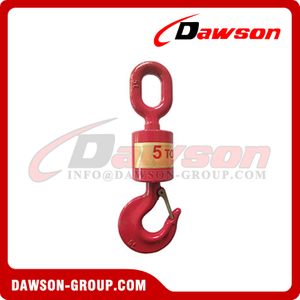High Quality Forged Hook Universal Vertical Swivel Lift Hook with Latch