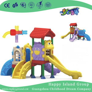 High Quality Commercial Children Plastic Small Slide Playground (ML-2008101)