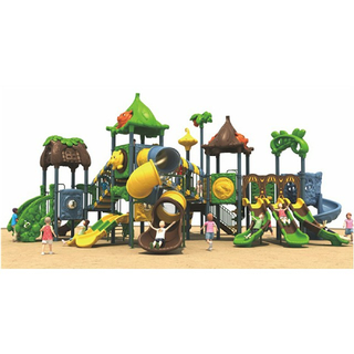 Outdoor Toddler Large Cartoon Animal Combined Playground (ML-2004101)