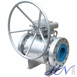 Gear Operated Forged Side Entry Trunnion Mounted Ball Valve