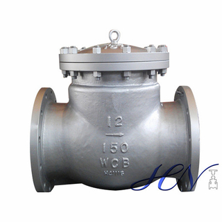 Condensate Pump Cast Steel Flanged Bolted Cover Swing Check Valve
