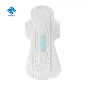 OEM A-3-Piece Type Solid Shield Apron And Blue Core Piece Or Flow Conducting Short Cut And Dotting Device Sanitary Napkins