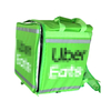 Factory Customized Uber Eats Insulated Food Transport Delivery Bag Backpack Foldbable for Bike