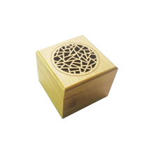 Hot sale Engraved Wooden Bamboo Incense burner for Sticks Holder