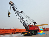 25 Ton / 40 Ton Rubber Tyred Crane For Harbour / Port / Goods Yard