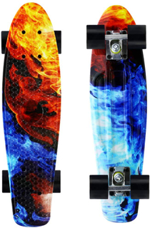 Merkapa Complete 22 inch Skateboard for Kids, Beginners
