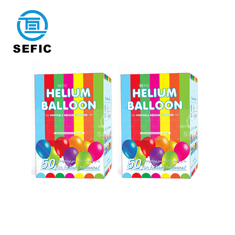 Disposable Helium Gas Cylinder