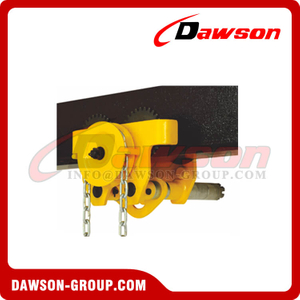 DS-GCL-MK Type Heavy Duty Geared Trolley Clamp