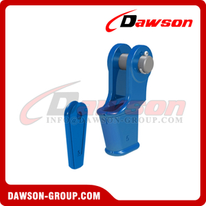 EN 13411-6 Open Wedge Socket, Wire Rope Socket with Split Pin and Safety Bolt