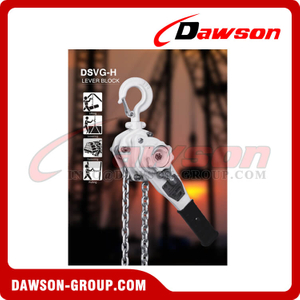 DSVG-H 0.8T - 9T Lever Block for Use Submerged Under Water, Manual Lever Hoist