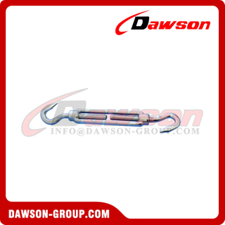 Stainless Steel DIN1480 Turnbuckle with Hook & Hook
