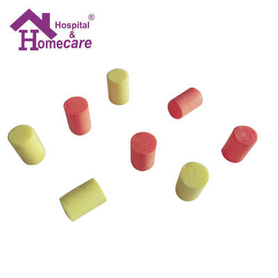 PU Foam Disposable Earplugs Slow Rebounded Soft Ear Plugs