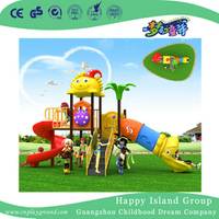 High Quality Cartoon Cylinder Slide Children Playground (BBE-B33)