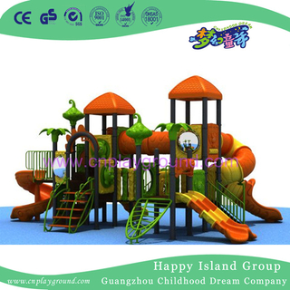 New Design Outdoor Children Cartoon Plastic Playground Equipment (HD-2901C)