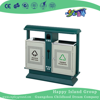 Hot Sale Outdoor Public Metal Trash Can (HHK-15304)