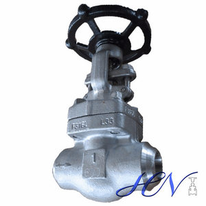 Sour Service Forged Stainless Steel Solid Gate Valve