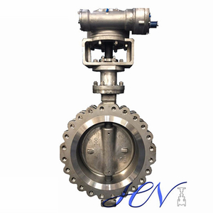 Stainless Steel Metal Seated Fully Lugged Double Offset Butterfly Valve
