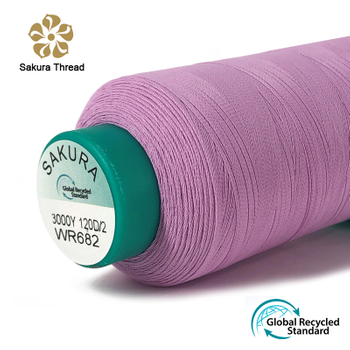 Matt Recycled Polyester Embroidery Thread