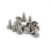 Stainless Steel 304 316 St4.2 Slotted Pan Head Tapping Screws