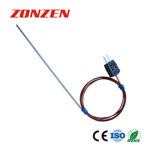 Sharp Probe Tube Thermocouple with Plug (ZZ-PTP01)