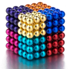 8 color mix magnetic balls 5mm 216pcs