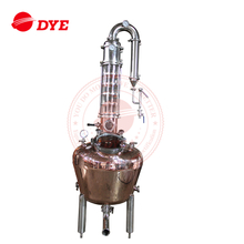 laboratory ethanol fractional glass distillation column