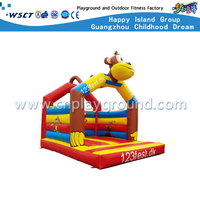 Cartoon Monkey Children Jumping Bouncer Inflatable Castle (Hd-9909)