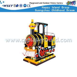 Children Play Small Simulative Electric Coin Operated Locomotive (HD-11703)