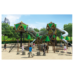 Outdoor Jungle Middle Children Climbing Combination Playground (HHK-4301)