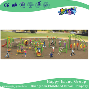 Large Outdoor Climbing Combination Frame For Children Play (1917401)