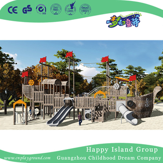 Outdoor Pirate Ship Playgroundpirate Ship Play Structure Equipment