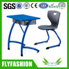 fashion design School Classroom Student desk and chair (SF-78S)