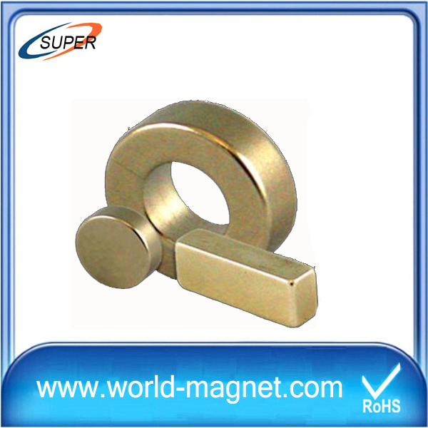 Factory Sell N52 Neodymium Ring Magnets