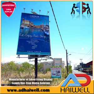 Solar Powered Lights LED Billboards for Outdoor Advertising