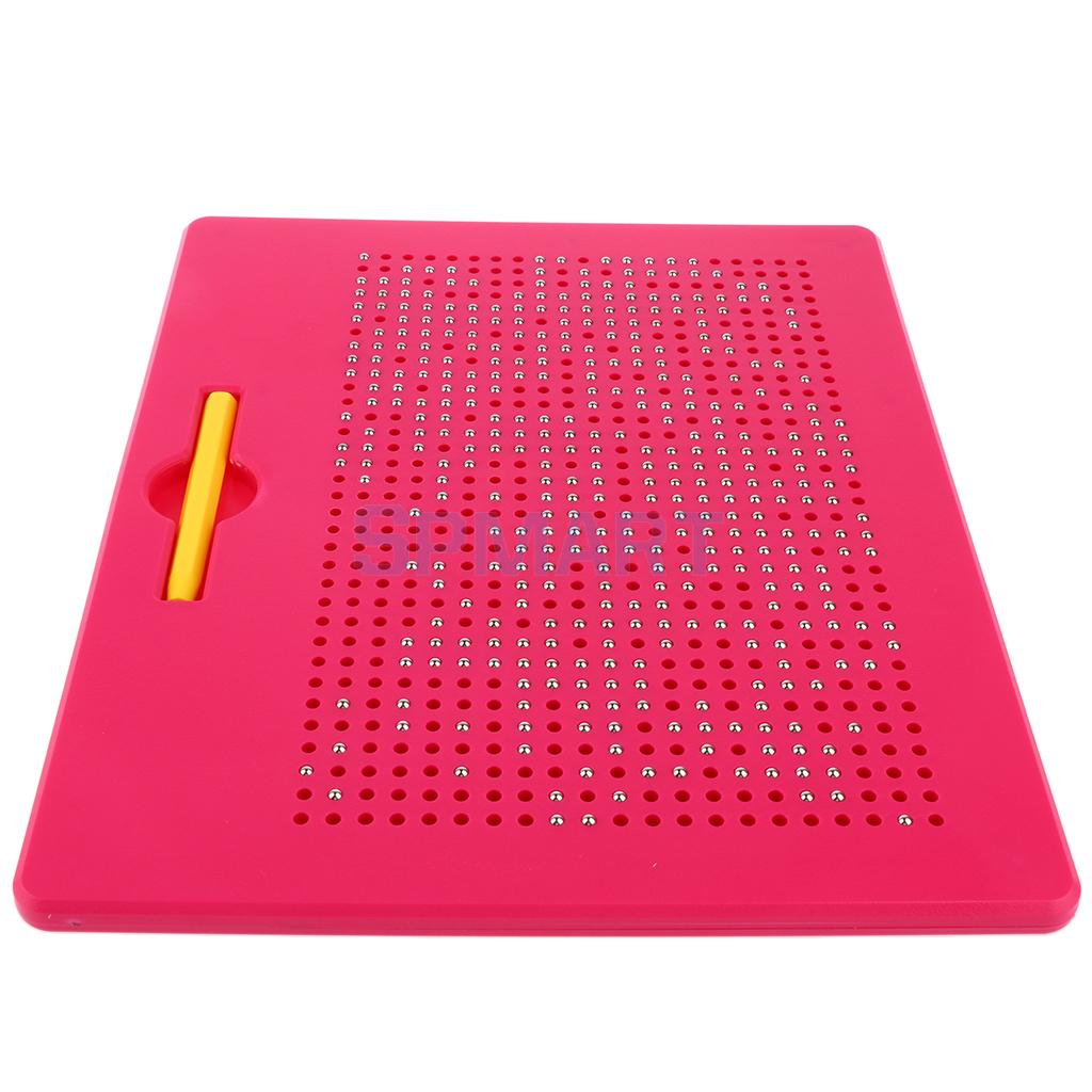 Large size 25.5*28*1.2cm with 713pcs Steel Balls Magnetic Drawing Board Children Toys
