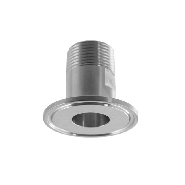 1//2/'/' inch NPT AdapterTri Clamp 1.5 1 1//2 inch x FNPT 1//2 in