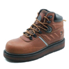 Crazy horse leather non slip composite toe industrial safety boots