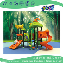 Outdoor Vegetable Roof with Butterfly Children Playground Equipment (HG-9401)