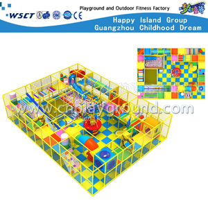 Kindergarten Naughty Castle Cartoon Indoor Playground Equipment For Toddler (MH-05602)