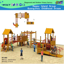 Outdoor Wooden Family Adventure Playground Equipment for Sale (HD-5602)