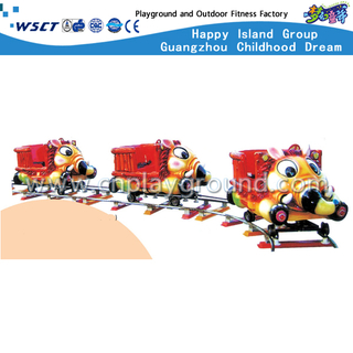 Electric Train for Kids with Stainless Steel Railway Train (A-12002)