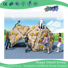 Outdoor Plastic Mound Feature Climbing Wall Series Playground Equipment (HF-19102)