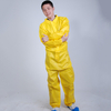 Dsiposable non-woven coverall with collar
