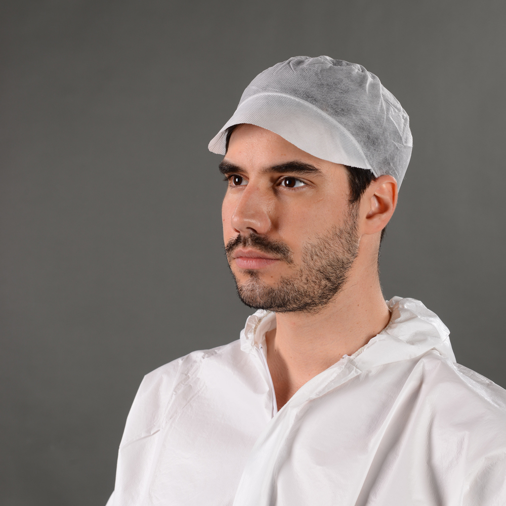 Non Woven Disposable worker cap for male