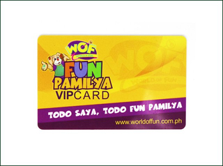 Card with Magnetic Stripe For Hotel Key Card