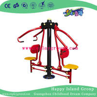 High Quality Outdoor Fitness Equipment Pulling and Sitting Training Machine for Two (HD-12106)